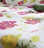 Bombay Dyeing Purple Cotton Queen Size Bedsheet - Set of 3