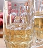 Borgonovo Rosy Glass 500 ML Mug - Set Of 6
