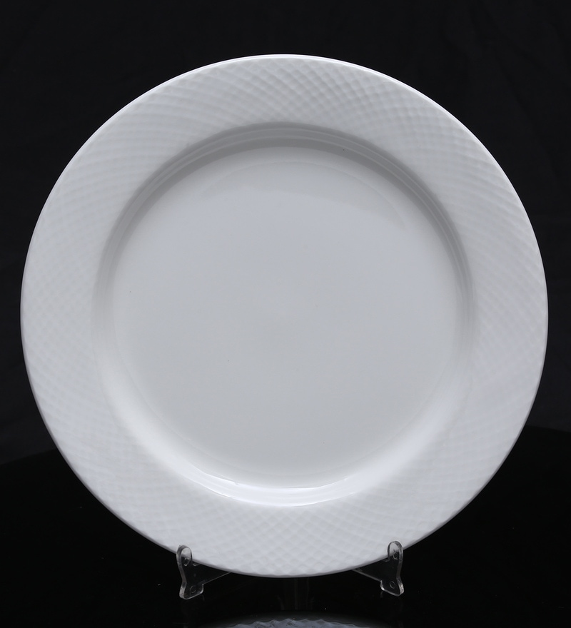 Bp Bharat Diamond Fine Bone China Plate - Set of 6