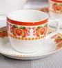 BP Bharat Bone China Coffee Set - Set of 7