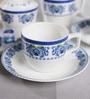 BP Bharat Bone China Tea Set - Set of 15