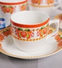 Bp Bharat Bone China Tea Set - Set of 15