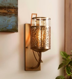 Upward wall mounted lights buy upward wall lights online in india bronze metal and glass serville wall mounted light mozeypictures Gallery