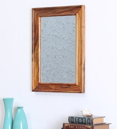 Brown Sheesham Wood Rajputana Mirror