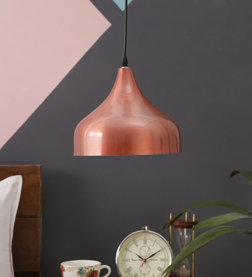 26b68471068d Buy Brown and White Aluminium Hanging Light by ASTRAL Online ...
