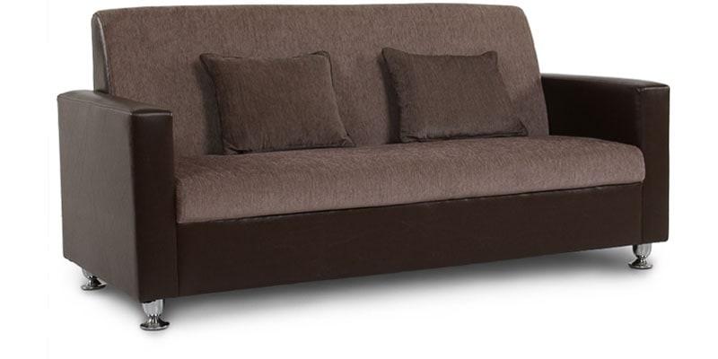 Buy Browntulip Sofa Set 3 1 1 Seater By Arra Online