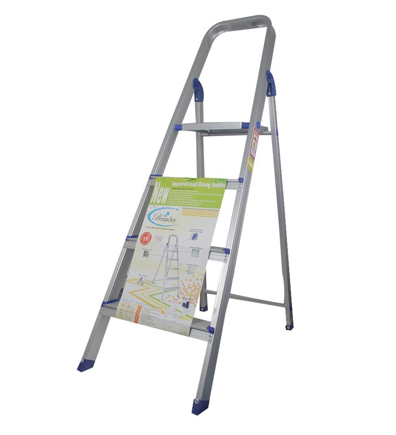 Brancley Aluminium 4 Steps 2.8 FT Ladder