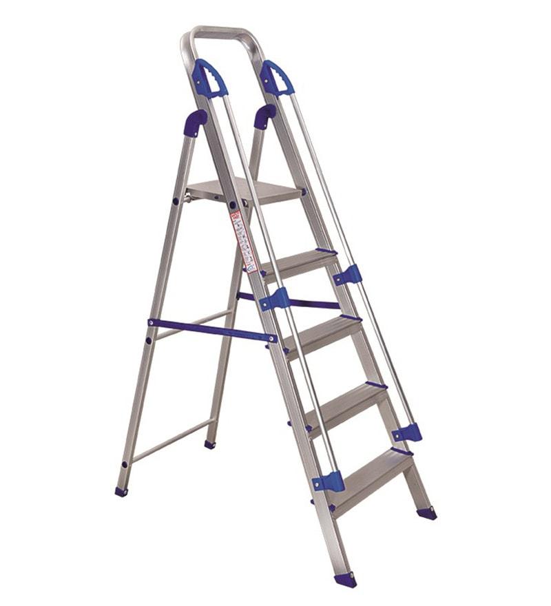 Brancley Aluminium 5 Steps 3.8 FT Ladder