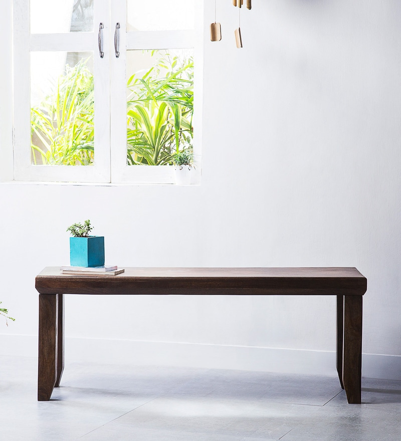 Mauston Bench in Provincial Teak Finish by Woodsworth