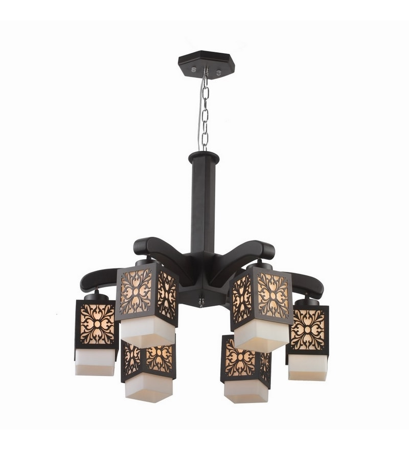 Brown Mild Steel Chandeliers by LeArc Designer Lighting