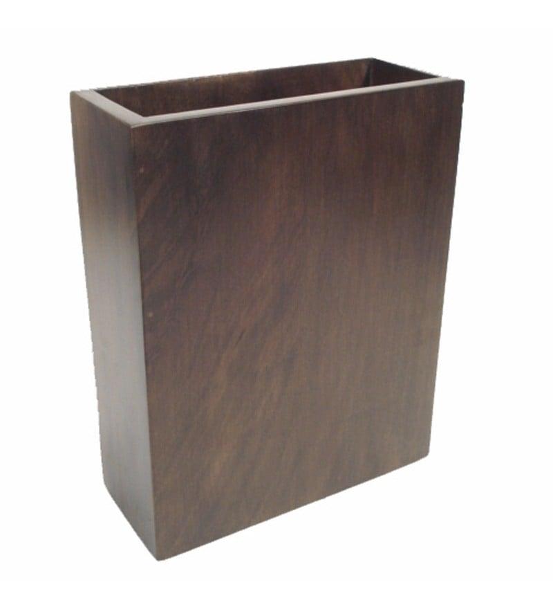Brown Wooden Beautiful & Elegant Vase by Golmaalshop