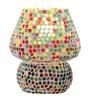 Brahmz mosaic Multicolour Glass Table Lamp