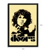 Fibre with Wood Texture 13 x 19 Inch Jim Morrison The Doors Framed Posters by Bravado
