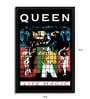 Fibre with Wood Texture 13 x 19 Inch Queen Live Magic Framed Posters by Bravado