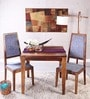 Brianna Two Seater Dining Set in Provincial Teak Finish by Woodsworth