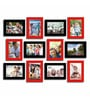 Picture red & black Matte Photo Frame by Art Street