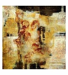 Canvas 24 X 0.2 X 24 Inch Goddess Unframed Handpainted Art Painting