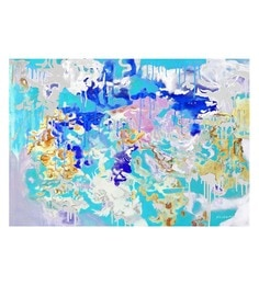 Canvas 36 X 0.2 X 24 Inch Explore Unframed Handpainted Art Painting