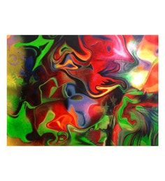 Canvas 36 X 0.2 X 24 Inch Transmission Unframed Handpainted Art Painting
