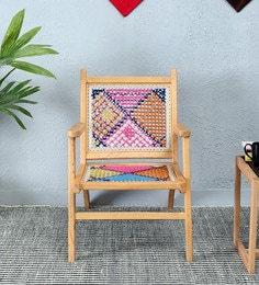 Cara Arm Chair In In Multi- Color Finish