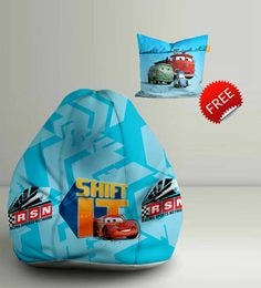 Cars Shift IT Digital Printed Bean Bag XXL Filled With Beans