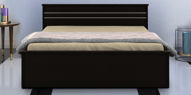 Carnival Queen Size Bed in Wenge Finish by Spacewood