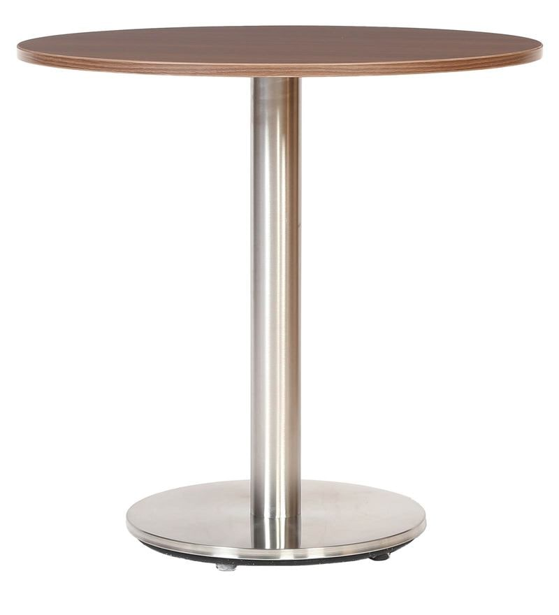 Buy Cafeteria Round Table with Metallic Base by FullStock Online