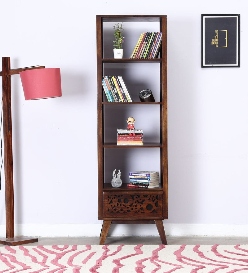 Cheney Book Shelf in Provincial Teak Finish by Woodsworth