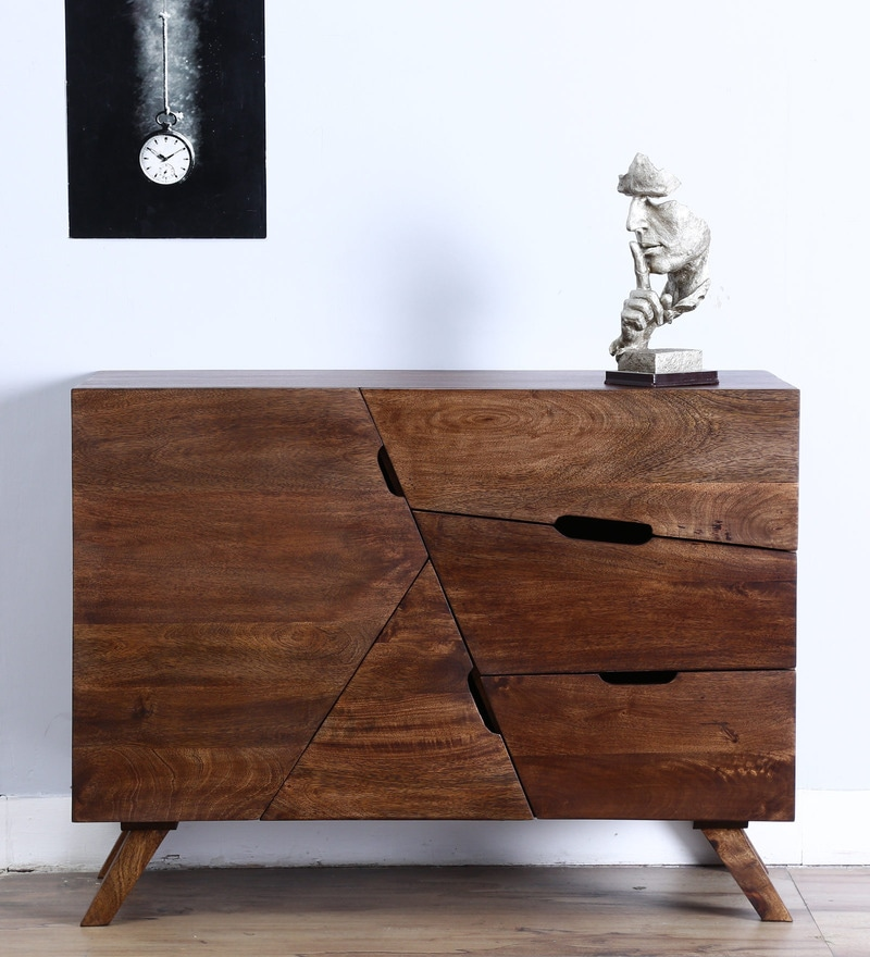Bonduel Sideboard in Provincial Teak Finish by Woodsworth