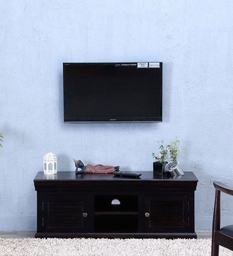 Carleson Entertainment Unit in Warm chestnut Finish by Amberville