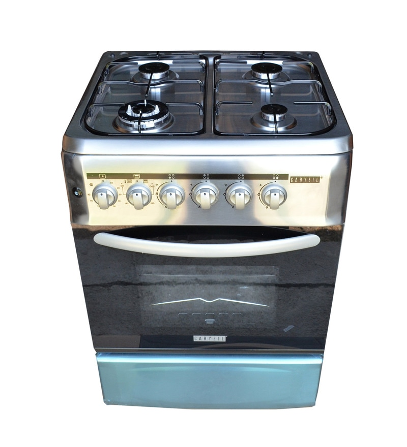 Carysil 4 Burner Stainless Steel Gas Cooking Range (Model: FSCR-03)
