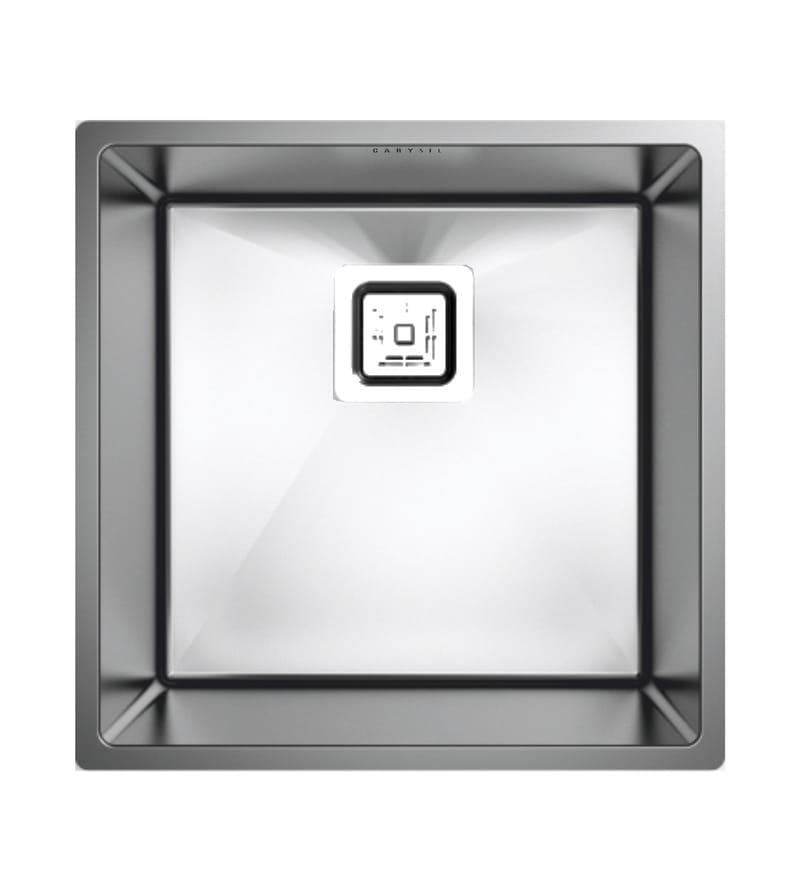 Carysil Quadro Q10 Stainless Steel Single Bowl Kitchen Sink (Model No: Mq010)