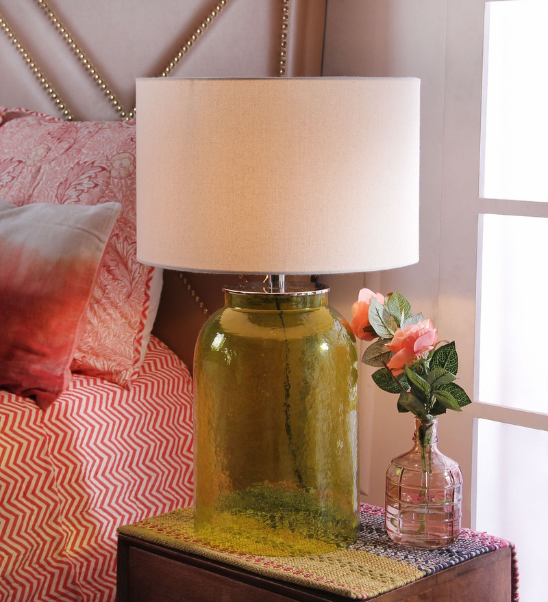 Marisa Table Lamp in Cream by CasaCraft
