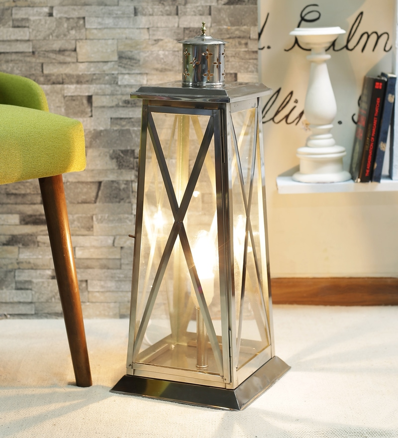 Laguna Lantern In Transparent by CasaCraft