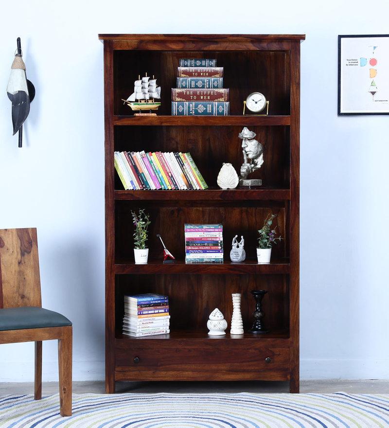 Cashmere Book Shelf in Provincial Teak Finish by Woodsworth