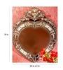 Silver MDF 24 x 2 x 29 Inch Mirror by Venetian Design