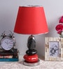 Multicolour Cotton Table Lamp by Calmistry