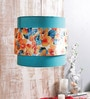 Flower Turquoise Hanging Shade by Calmistry