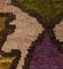 Carpet Overseas Handknotted Wool Pile Ikat Design Area Rug