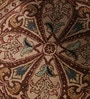 Brown & Cream Wool 60 x 60 Inch Persian Design Hand Knotted Area Rug by Carpet Overseas