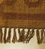 Brown Jute 61 x 36 Inch Area Rug by Carpet Overseas