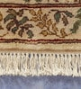 Carpet Overseas Ivory Wool 36 x 24 Inch Persian Design Hand Knotted Area Rug
