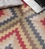 Carpet Overseas Multicolour Cotton 33 x 29 Inch Area Rug