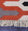 Multicolour Cotton 73 x 48 Inch Area Rug by Carpet Overseas