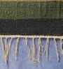 Multicolour Jute 40 x 24 Inch Stripes Design Flatweave Area Rug by Carpet Overseas