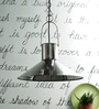 Florianopolis Pendant Lamp In Silver by CasaCraft