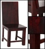 Mauston Dining Chair in Passion Mahogany Finish by Woodsworth