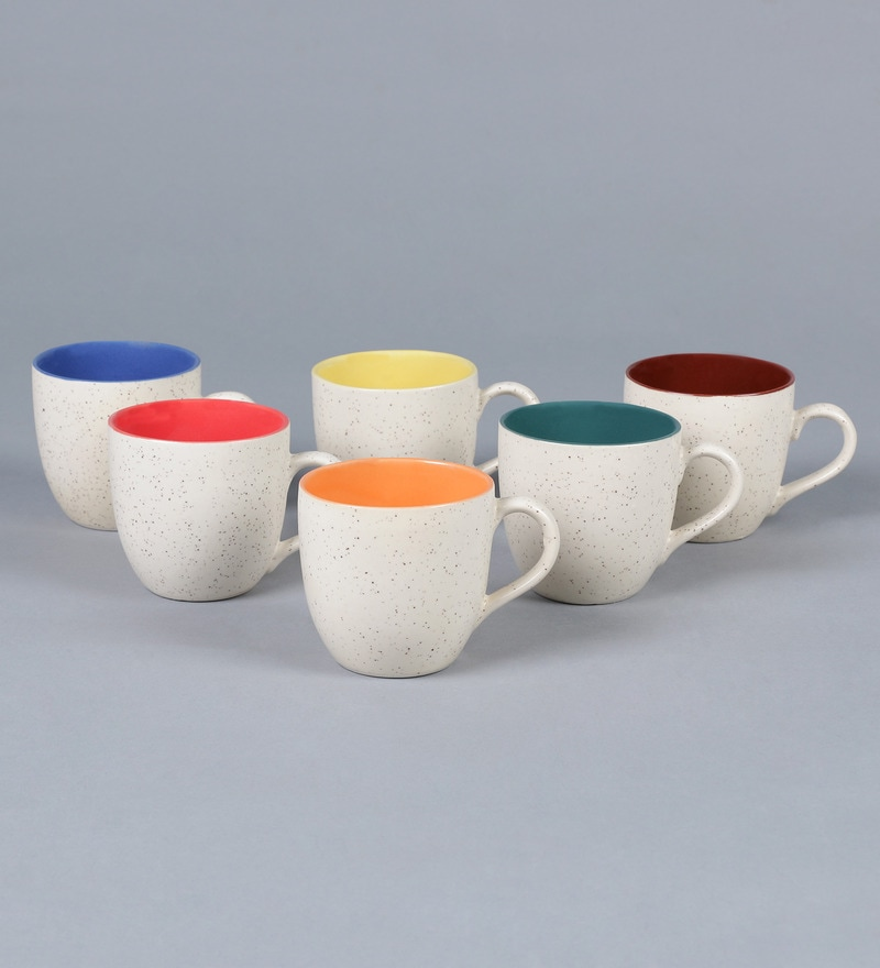 A Marble In A Cup Of Honey : Buy cdi stoneware marble finish tea cup set of online