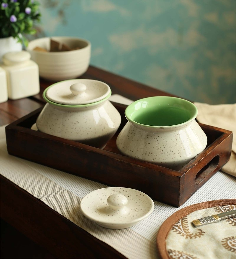 Cdi Stoneware Handi Set - Set of 3