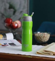 Celebration Gift H2O Green Stainless Steel 750 ML Trendy Water Bottle